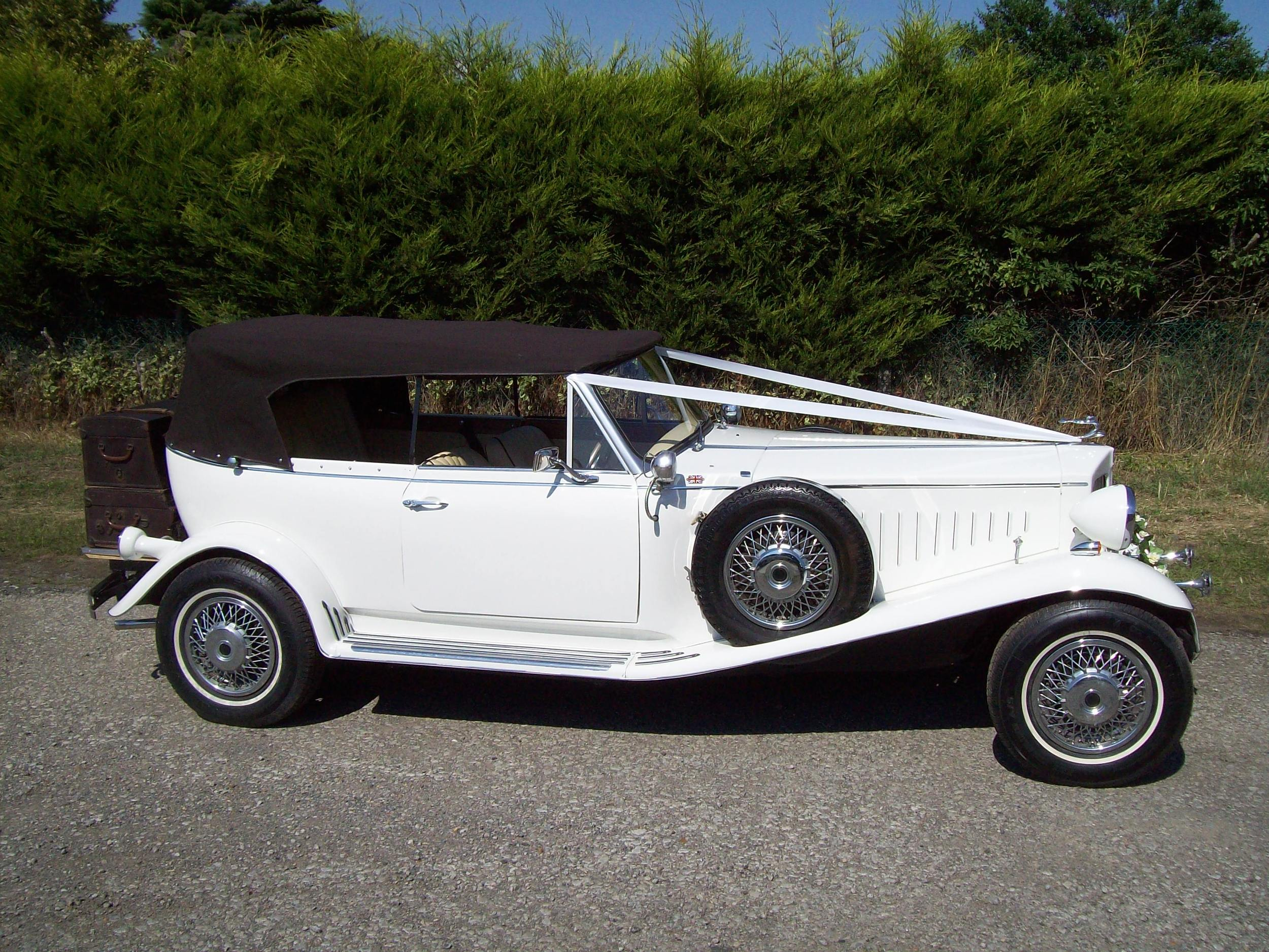 Beauford With Roof Erected & Side Windows Down