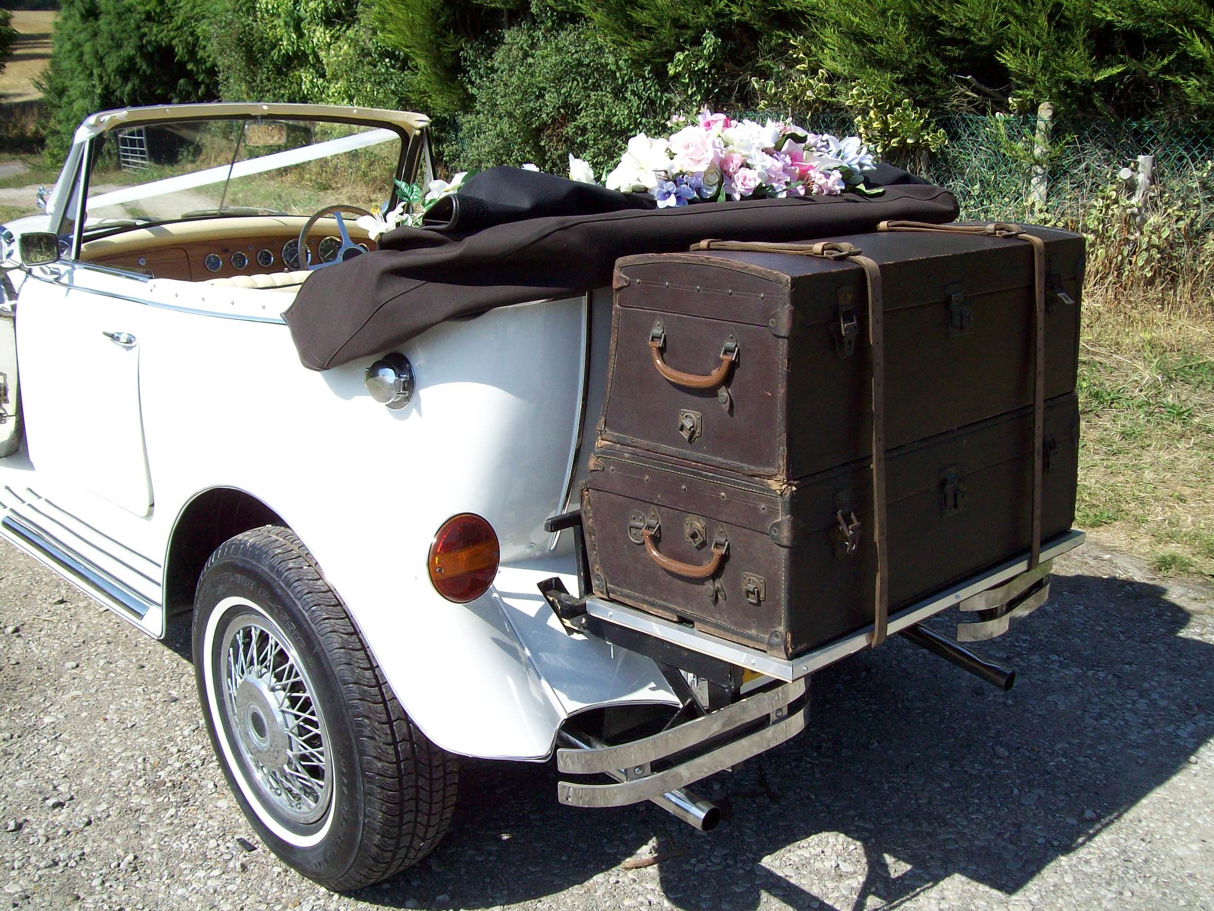 Beauford Open Tourer Luggage