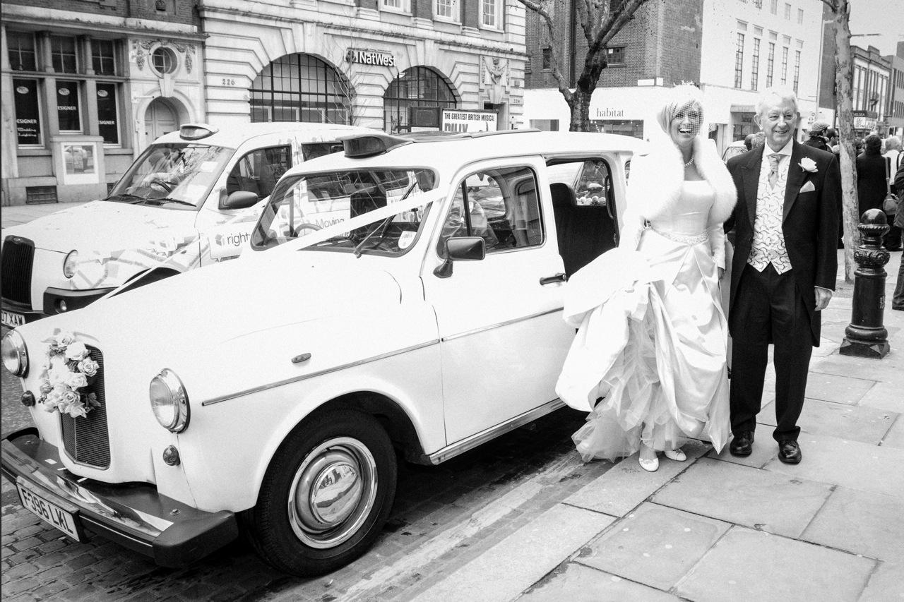 Caroline Feraday celebrity wedding