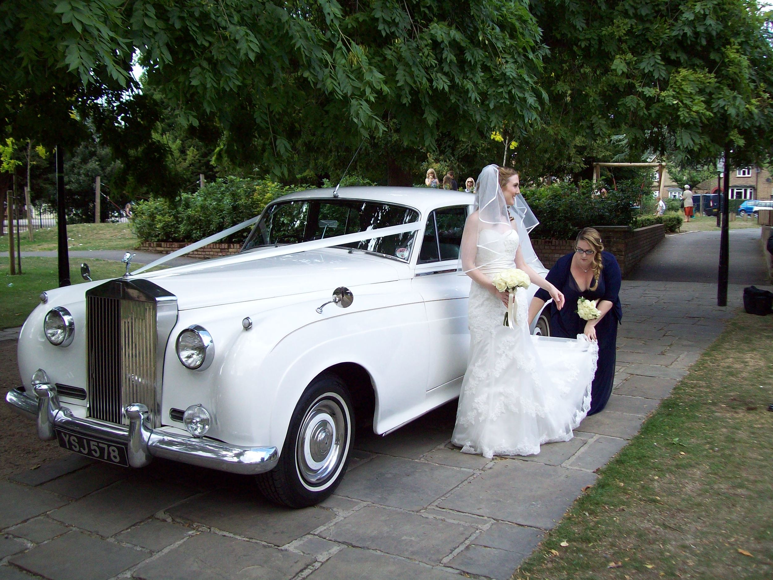 Rolls Royce Wedding.