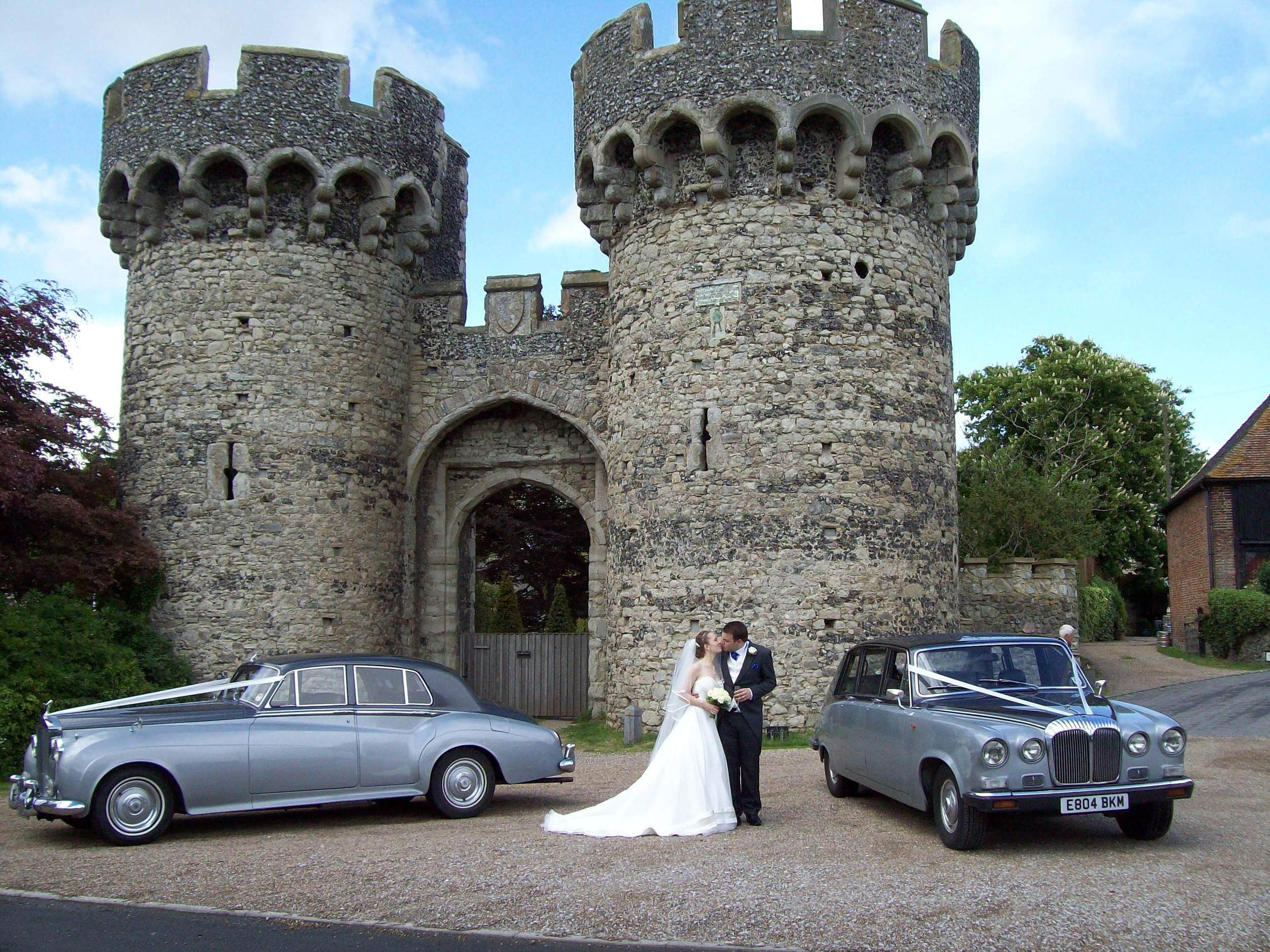 rolls royce cooling castle wedding