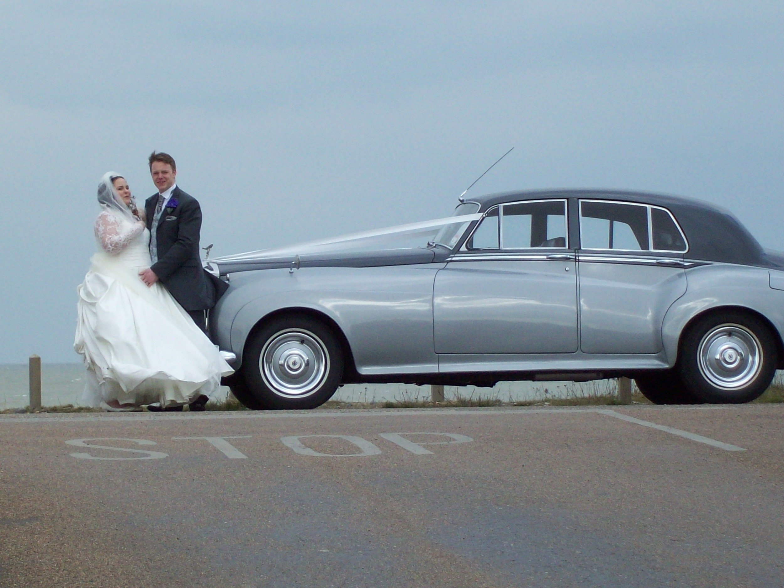 rolls royce wedding in Thanet