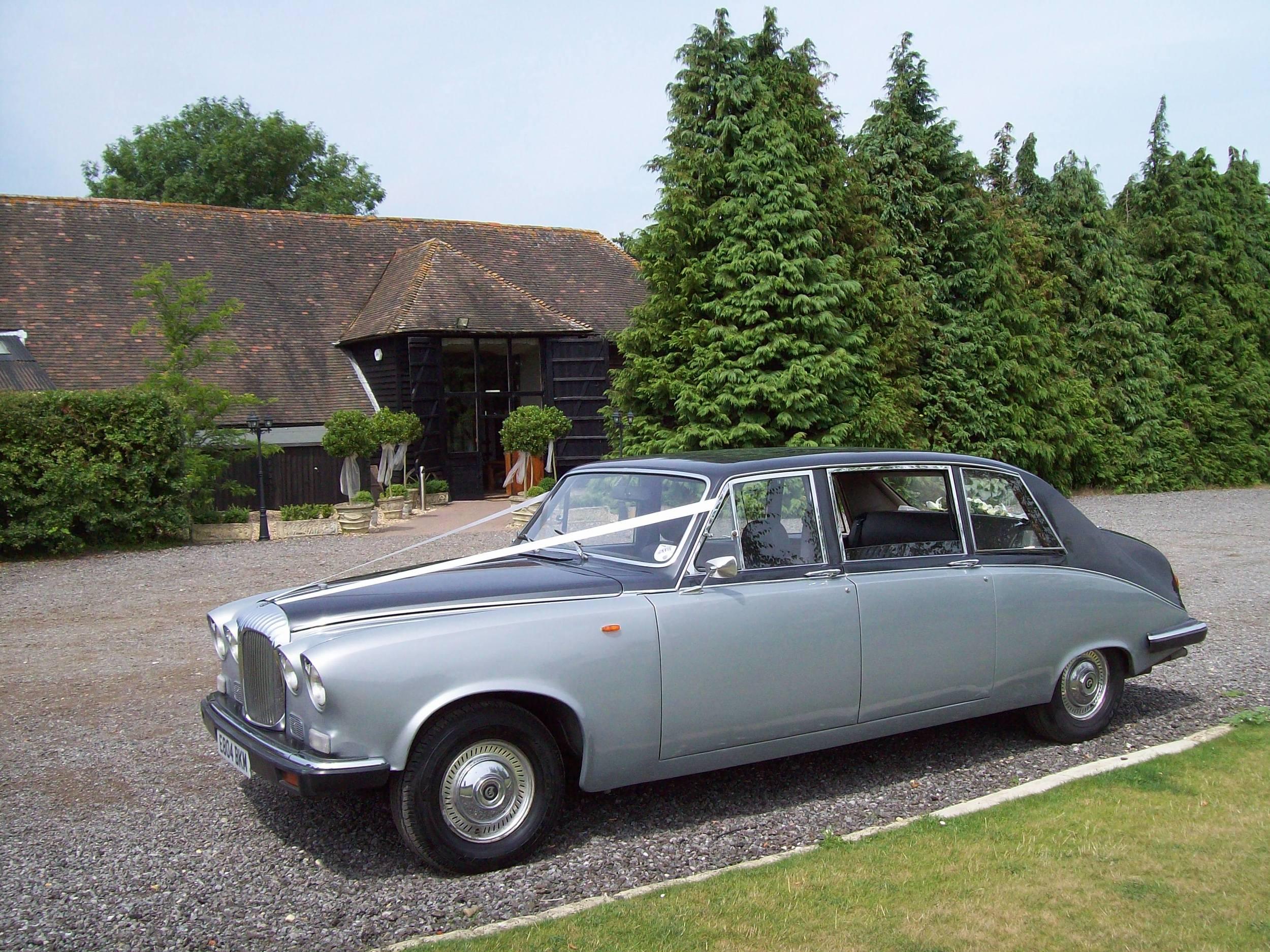 Daimler Limousine wedding in Kent