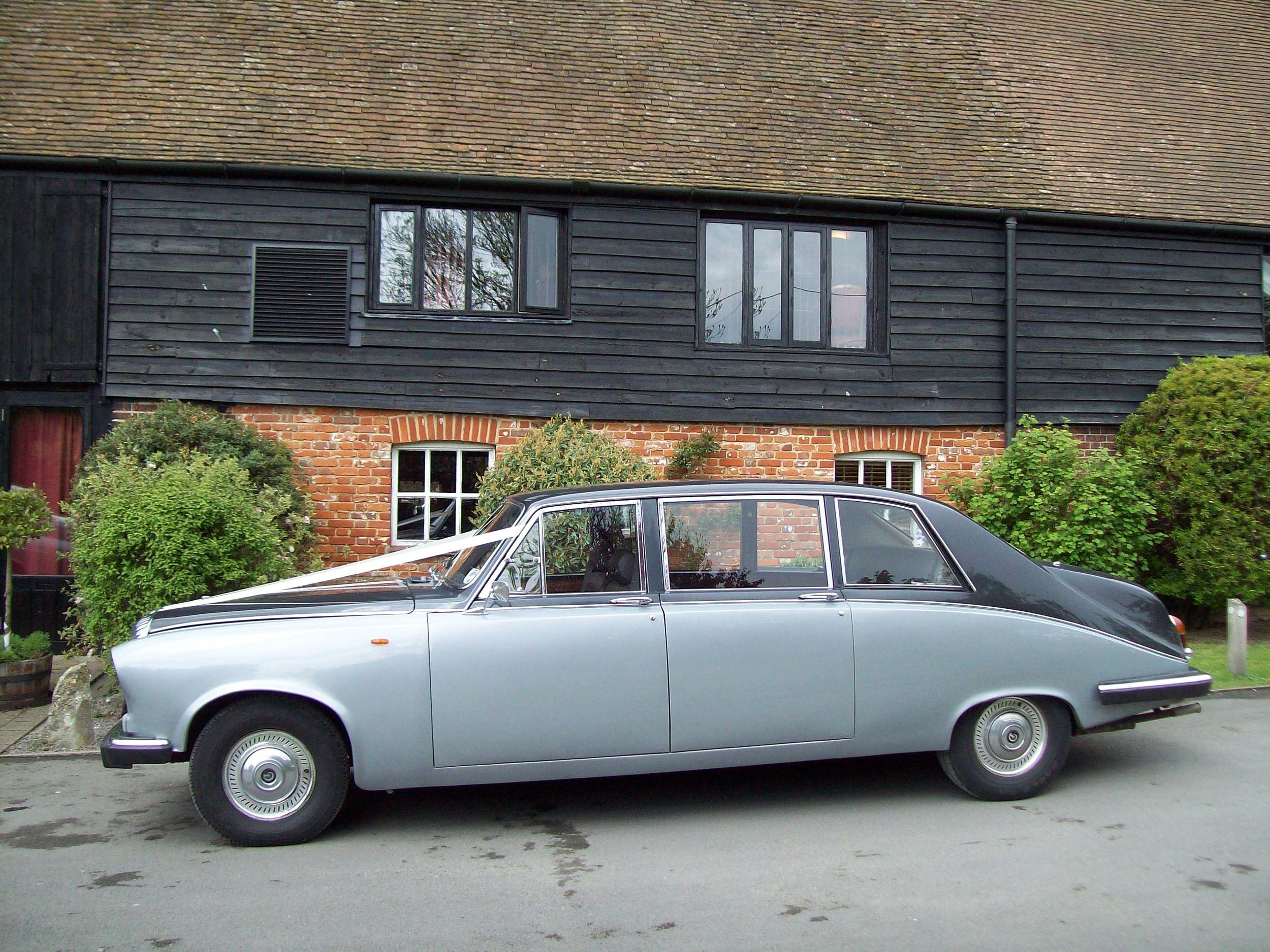 Daimler Limousine wedding car hire