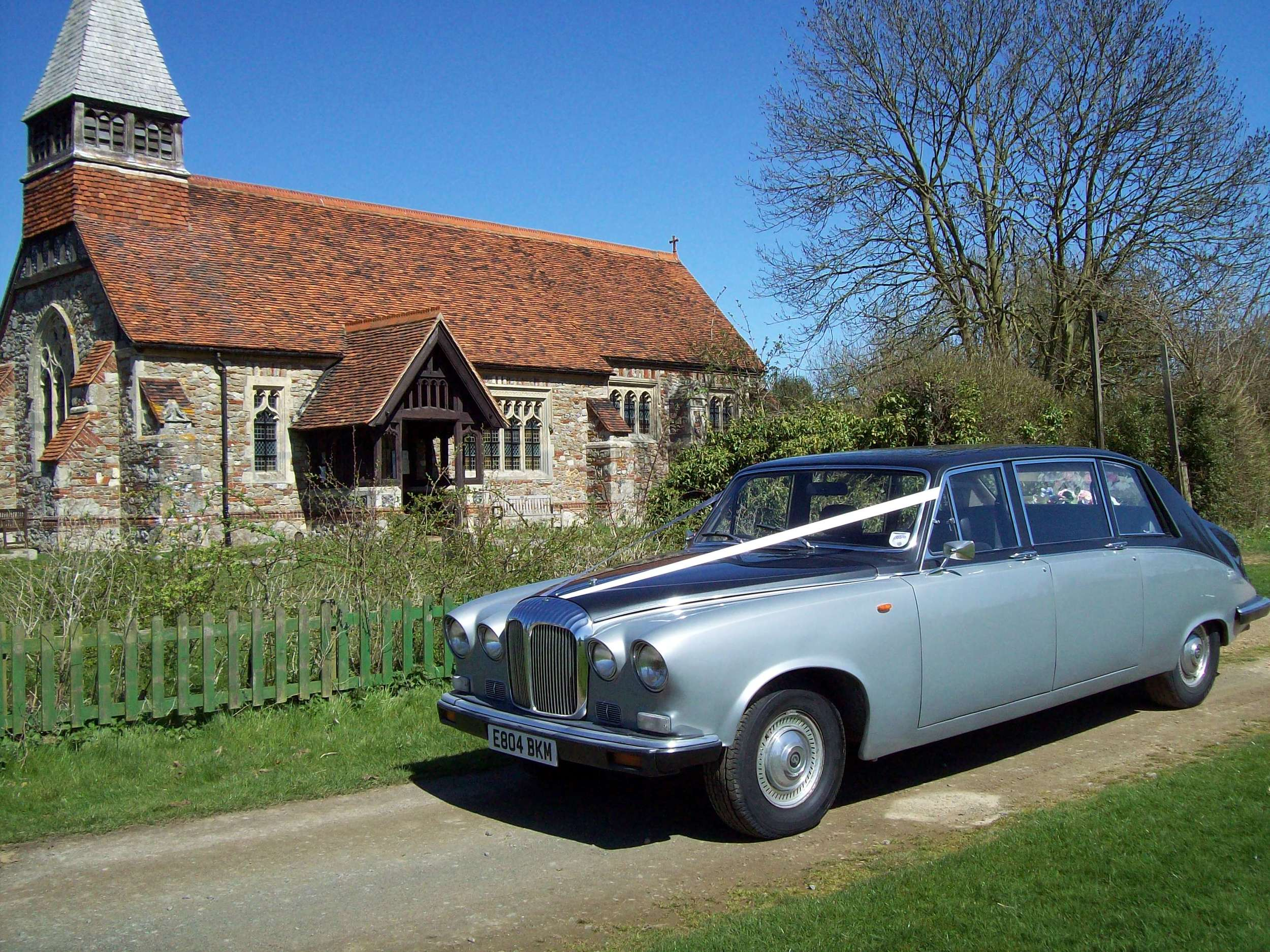Daimler Limousine wedding hire in Kent