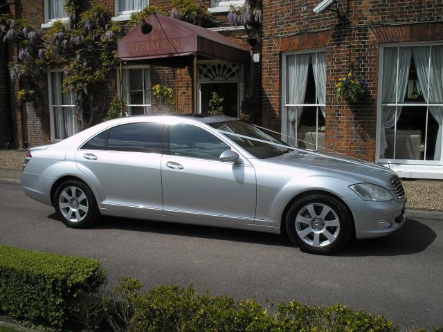 Mercedes Wedding car kent.JPG