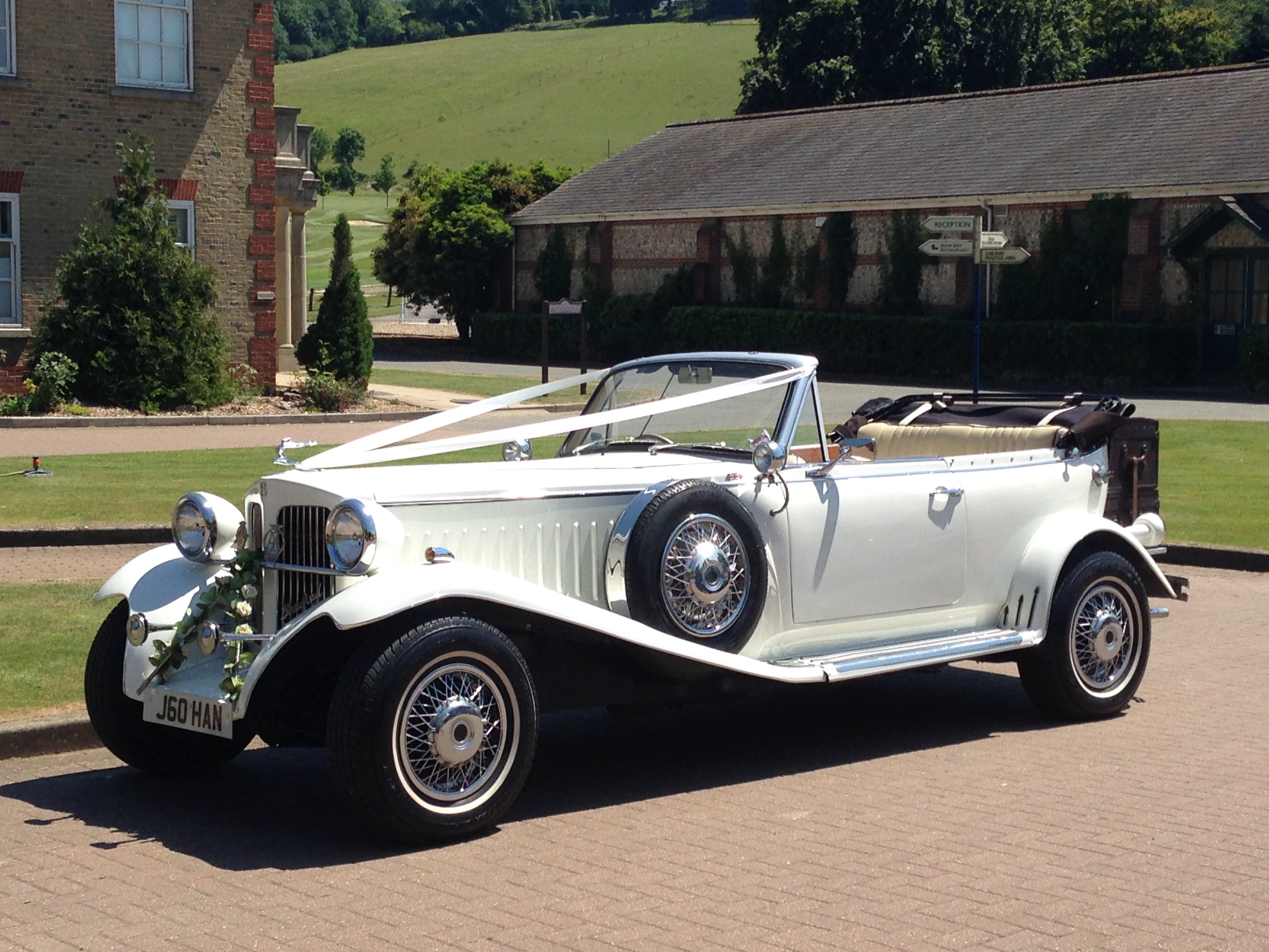 White Beauford Open Tourer