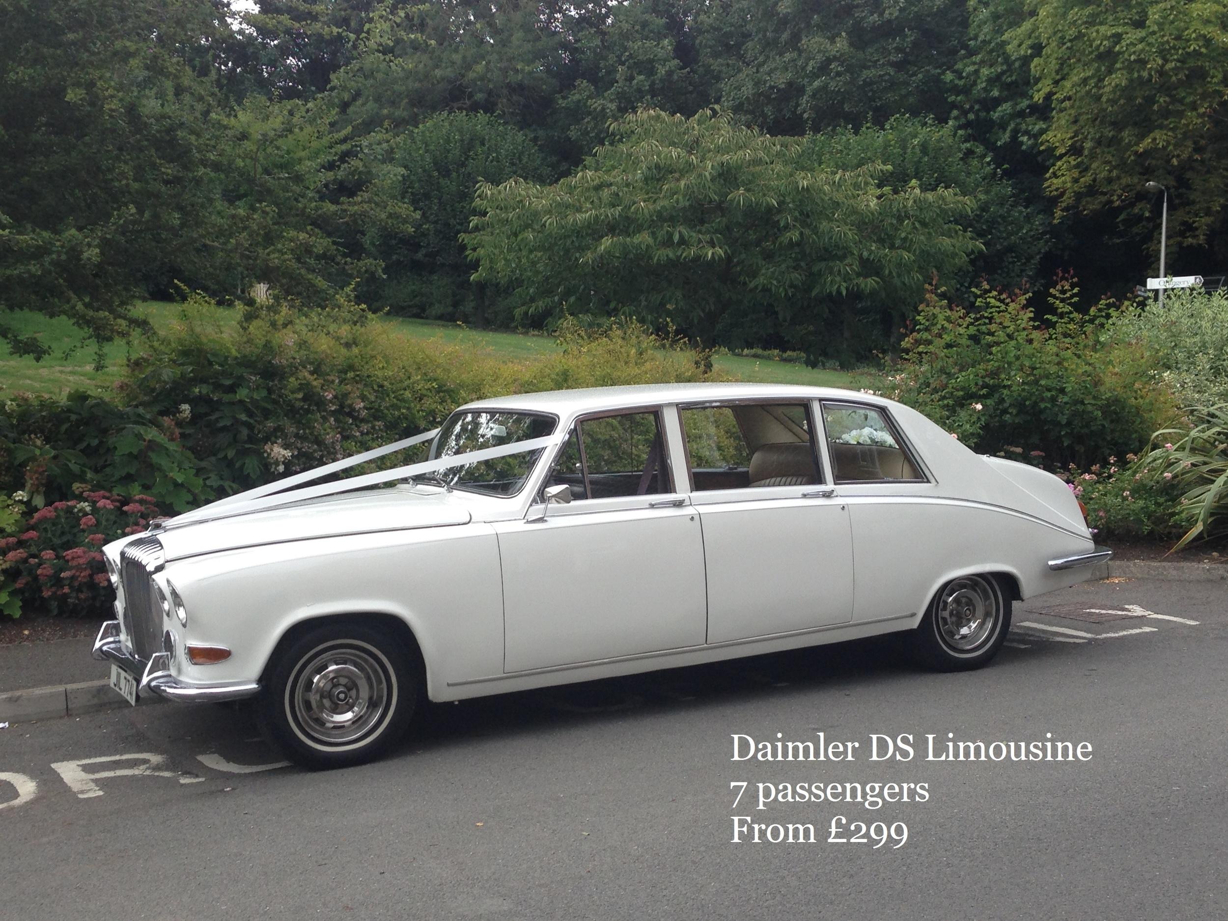 Daimler DS Limousine 7 passengers