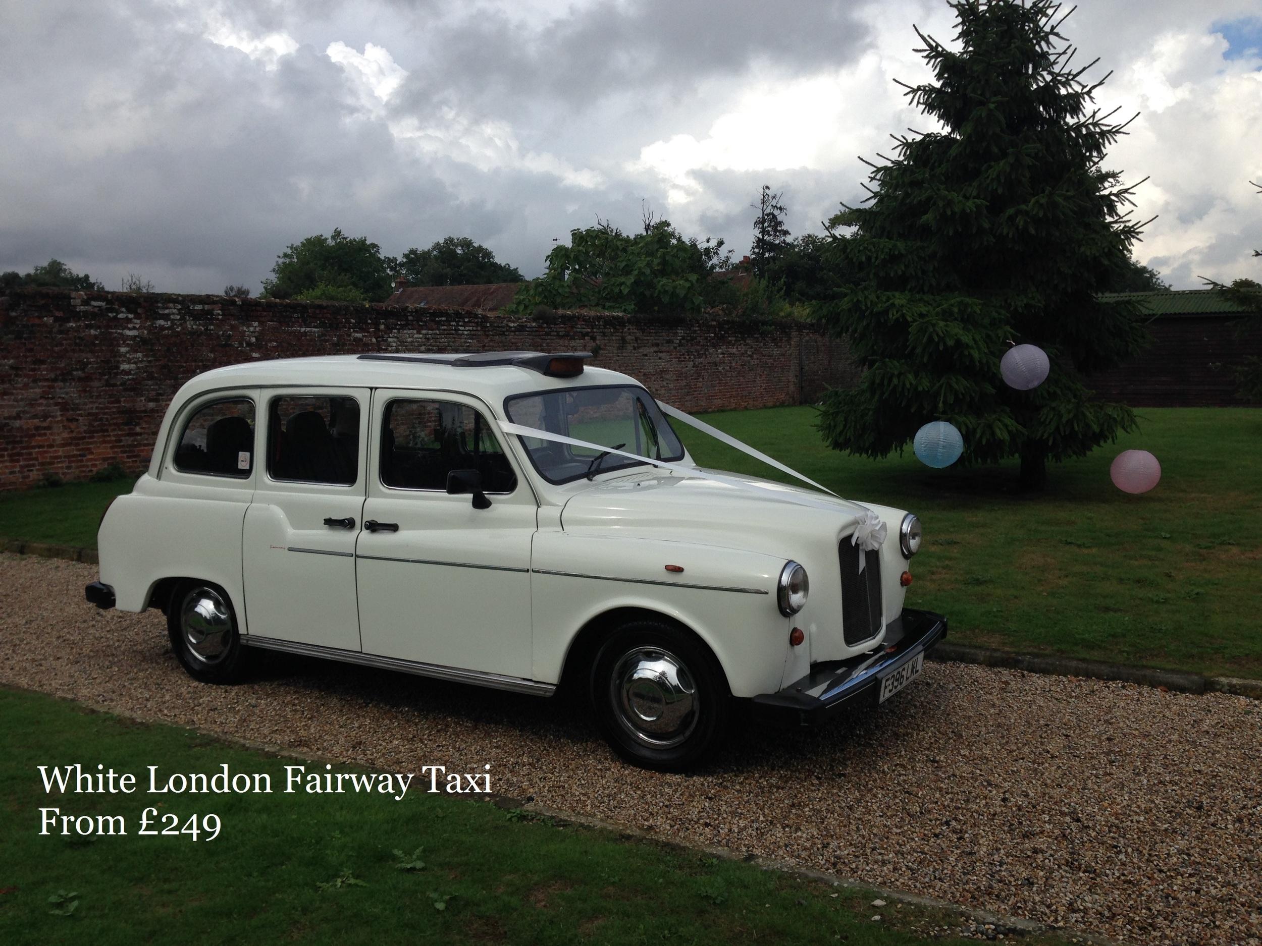 White London Fairway Taxi