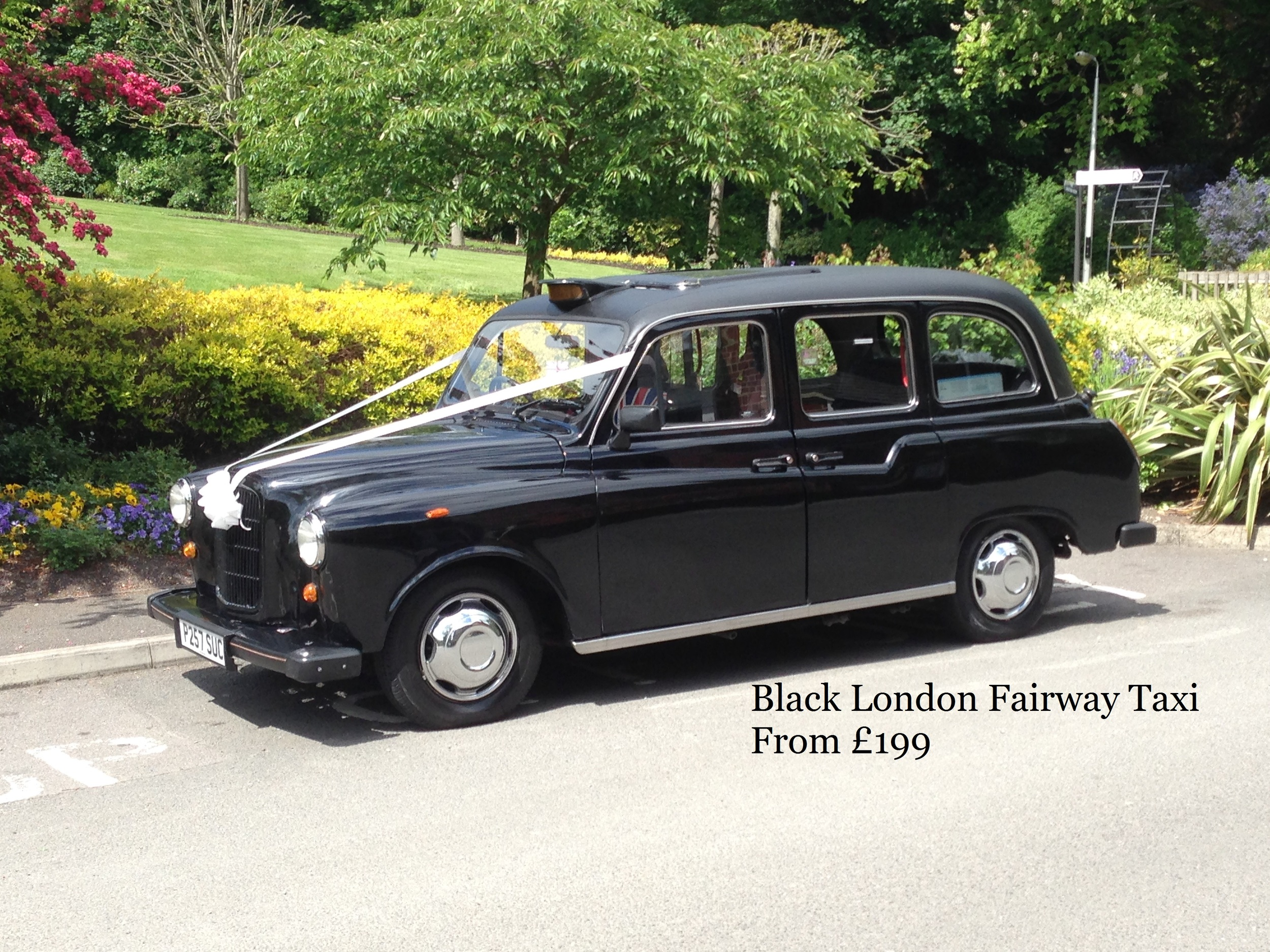 Black London Fairway Taxi