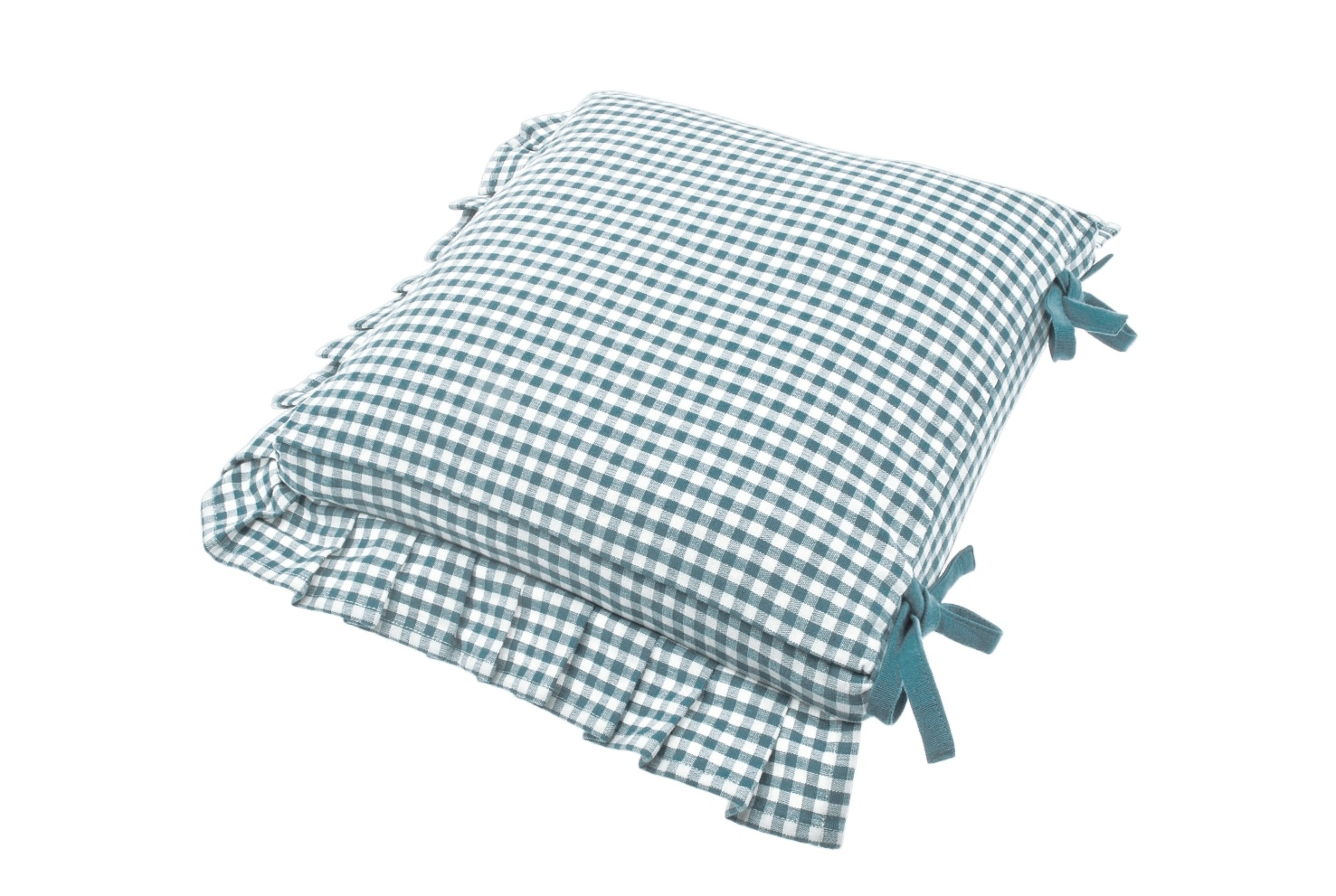 Tie Back Cushion with Frill  €20  Product Code: WAL-AUFCB/F