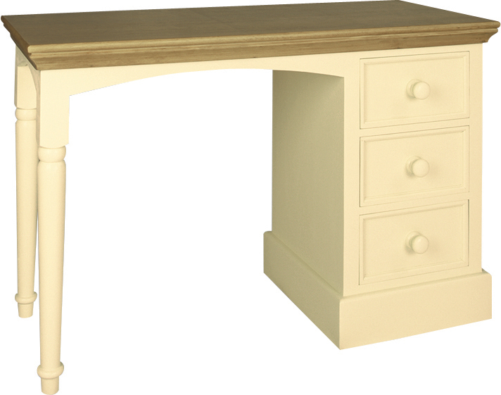 DRESSING TABLE/ DESK  w 113 x d 49 x h 77 cm  € 546  Product Code: DL-6011  This piece may be orderedin any of the Heritage colours and finishes