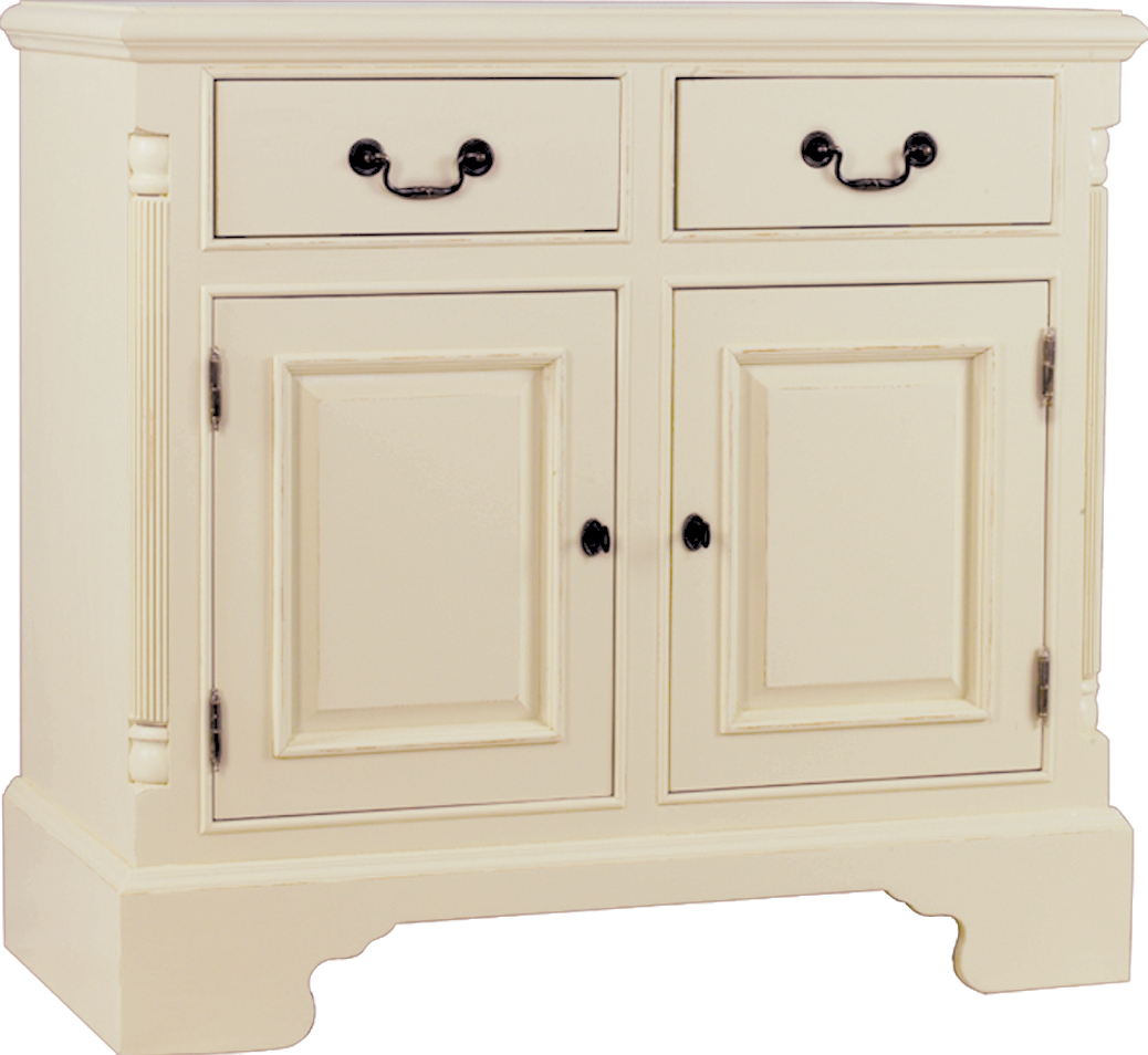 HERITAGE GEORGIAN LINE SIDEBOARD  w 95 x d 47 x h 91 cm  € 768  Product Code: GL-2030  This piece may be ordered in any of the Heritage colours and finishes.