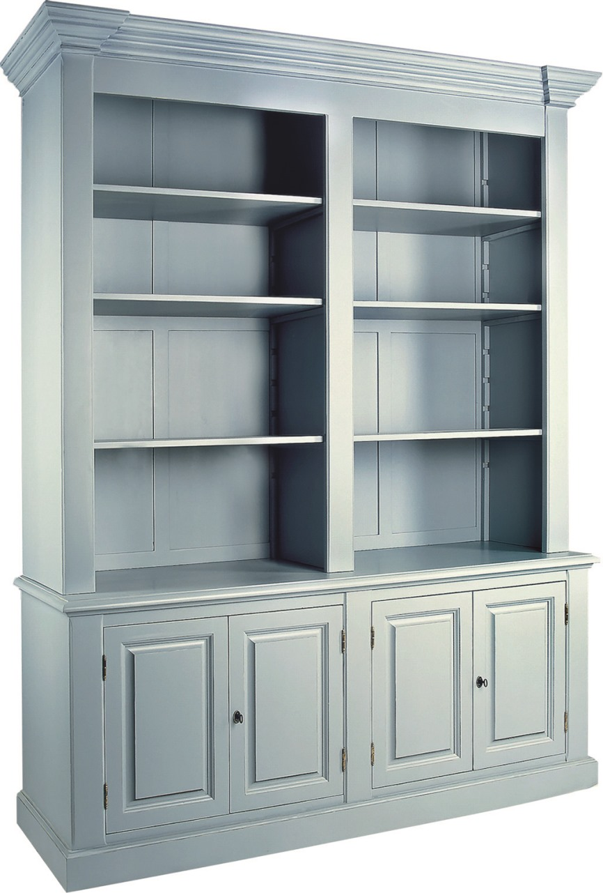 HERITAGE NOTTINGHAM COLLECTION BOOKCASE  w 181 x d 56 x h 225 cm  € 2,594 ( 30% OFF, NOW € 1,815.80 )  Product Code: NC-9027  This piece may be orderedin any of the Heritage colours and finishes.
