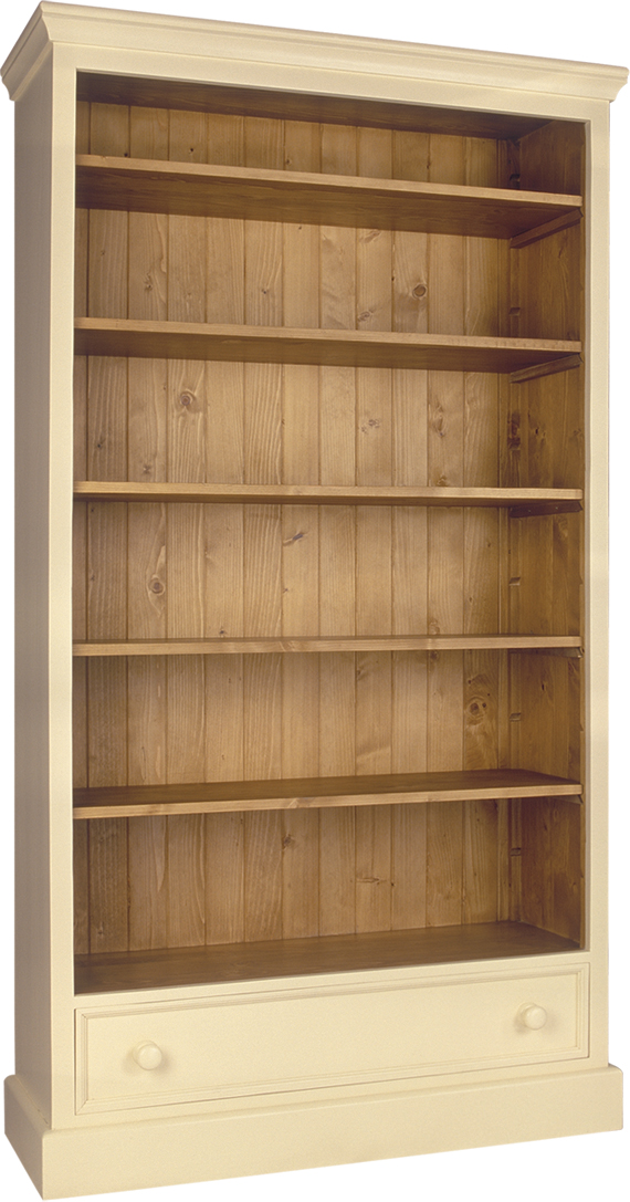HERITAGE DALE LINE BOOKCASE  w 112 x d 41 x h 200 cm  € 956 ( 30% OFF, NOW € 669.20 )  Product Code: DL-6021  This piece may be orderedin any of the Heritage colours and finishes