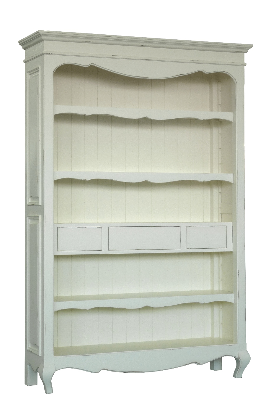 HERITAGE FRENCH LINE BOOKCASE  w 138 x d 41 x h 205 cm  € 1,681 ( 30% Off- NOW € 1176.70 )  Product Code: FL-7020  This piece may be orderedin any of the Heritage colours and finishes.