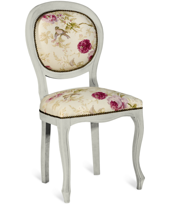 HERITAGE TRADITIONAL LINE UPHOLSTERED CHAIR  w 50 d 50 h 99 cm  ( seat height 50 cm )  € 398 ( 30% off, Now € 278.60 )  Product Code: TL-1218  This piece may be orderedin any of the Heritage colours and finishes.