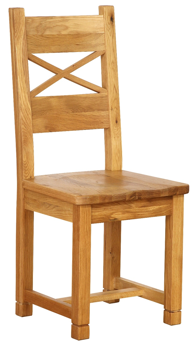 CROSS BACK DINING CHAIR  w 58  x d 46 x h 108 cm  € 184  Product Code: NB049