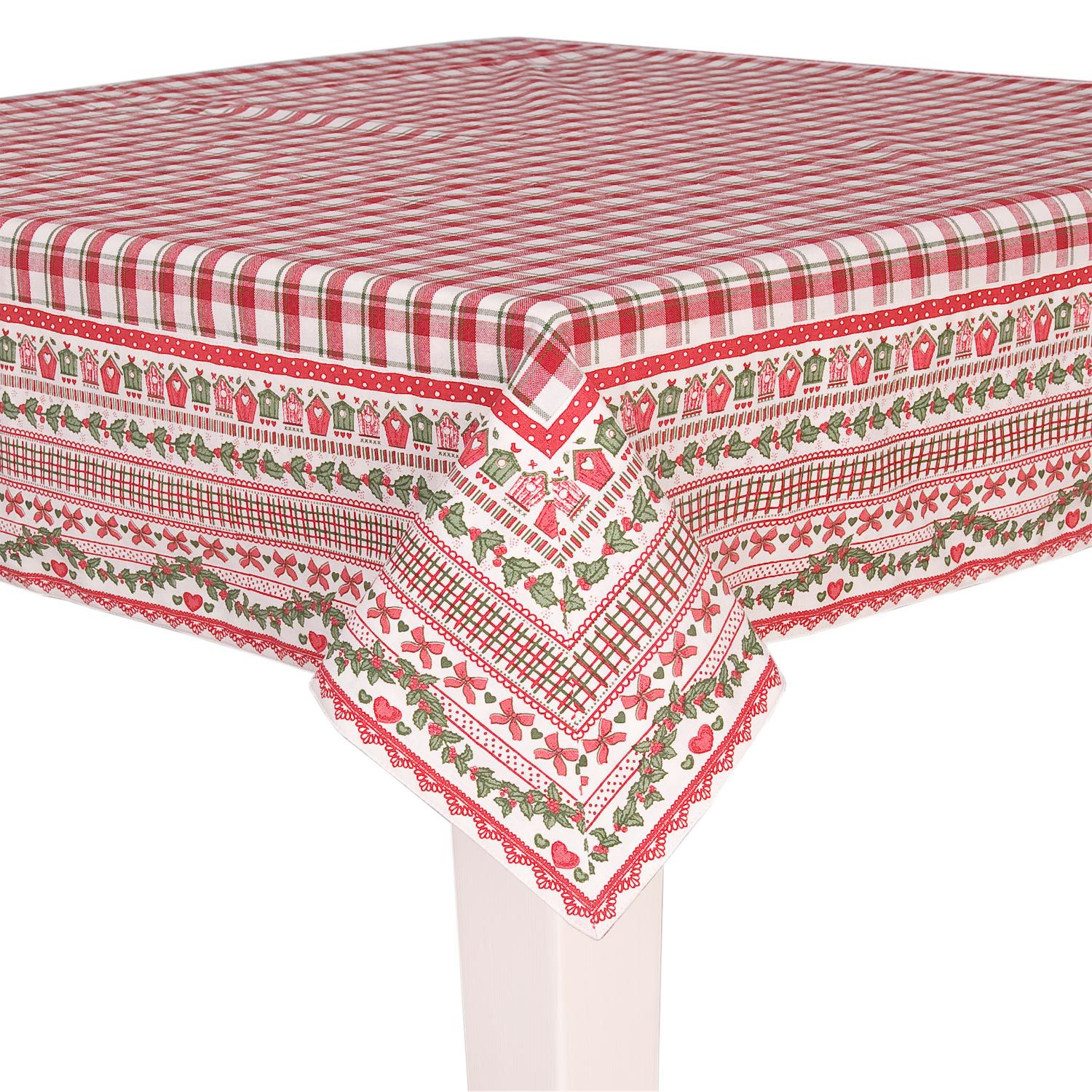 Christmas Tablecloth  Available in two sizes:  130 x 180 cm  € 44  150 x 250 cm  € 88