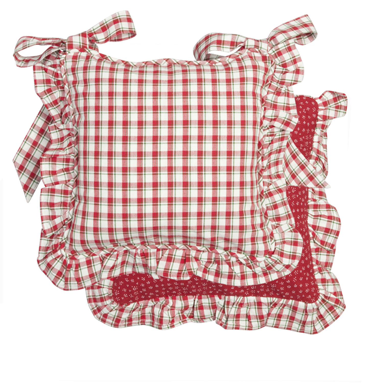 Christmas Tie Back Cushions  € 29