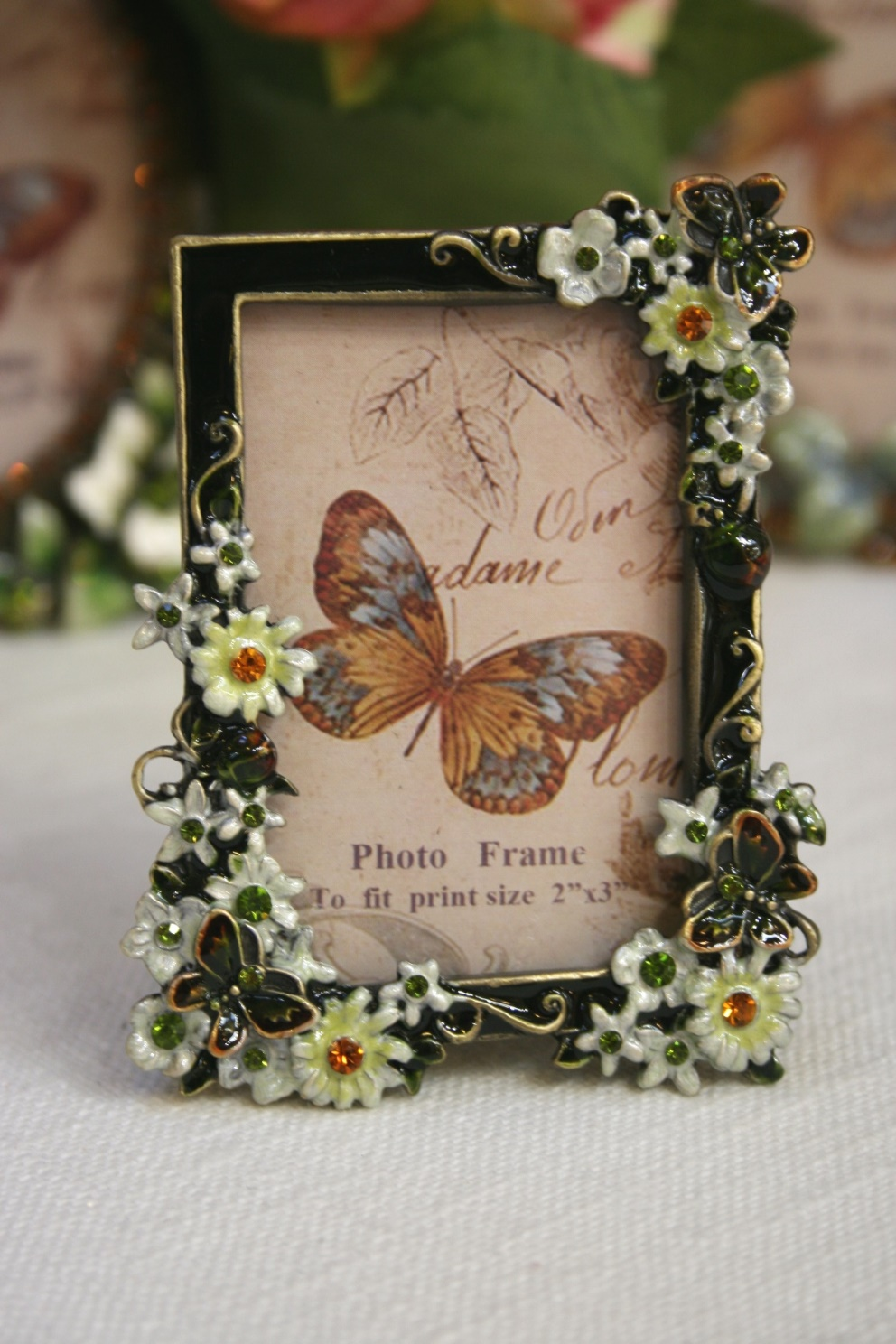 Bejewelled Small Rectangular Frame €12.50