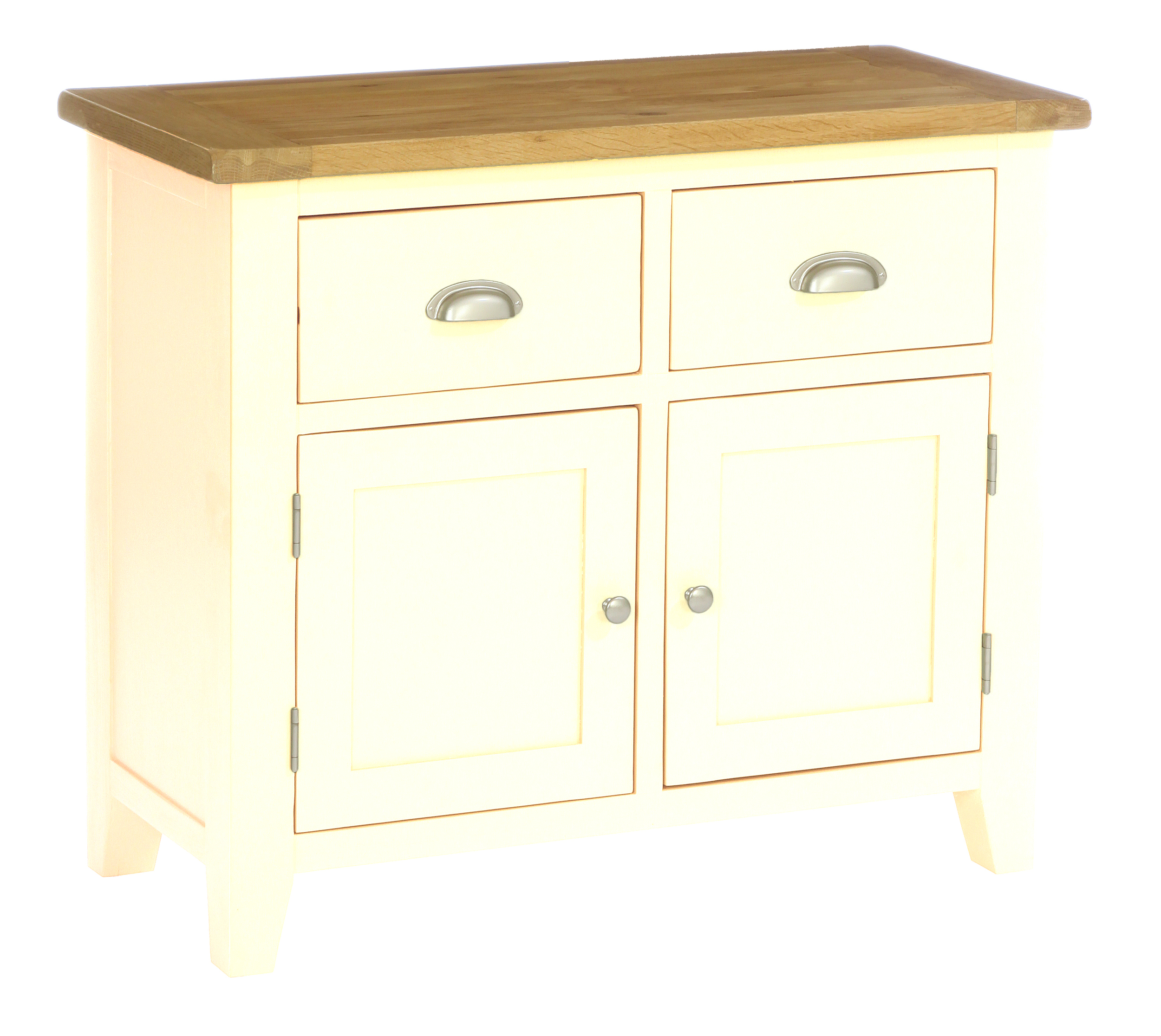 2 Door, 2 Drawer Sideboard/ Dresser Base  Colour-Ivory  w 100 x d 45 x h 85 cm  €679 ( 40% Off - NOW  € 407.40)  Product Code: CANB118B