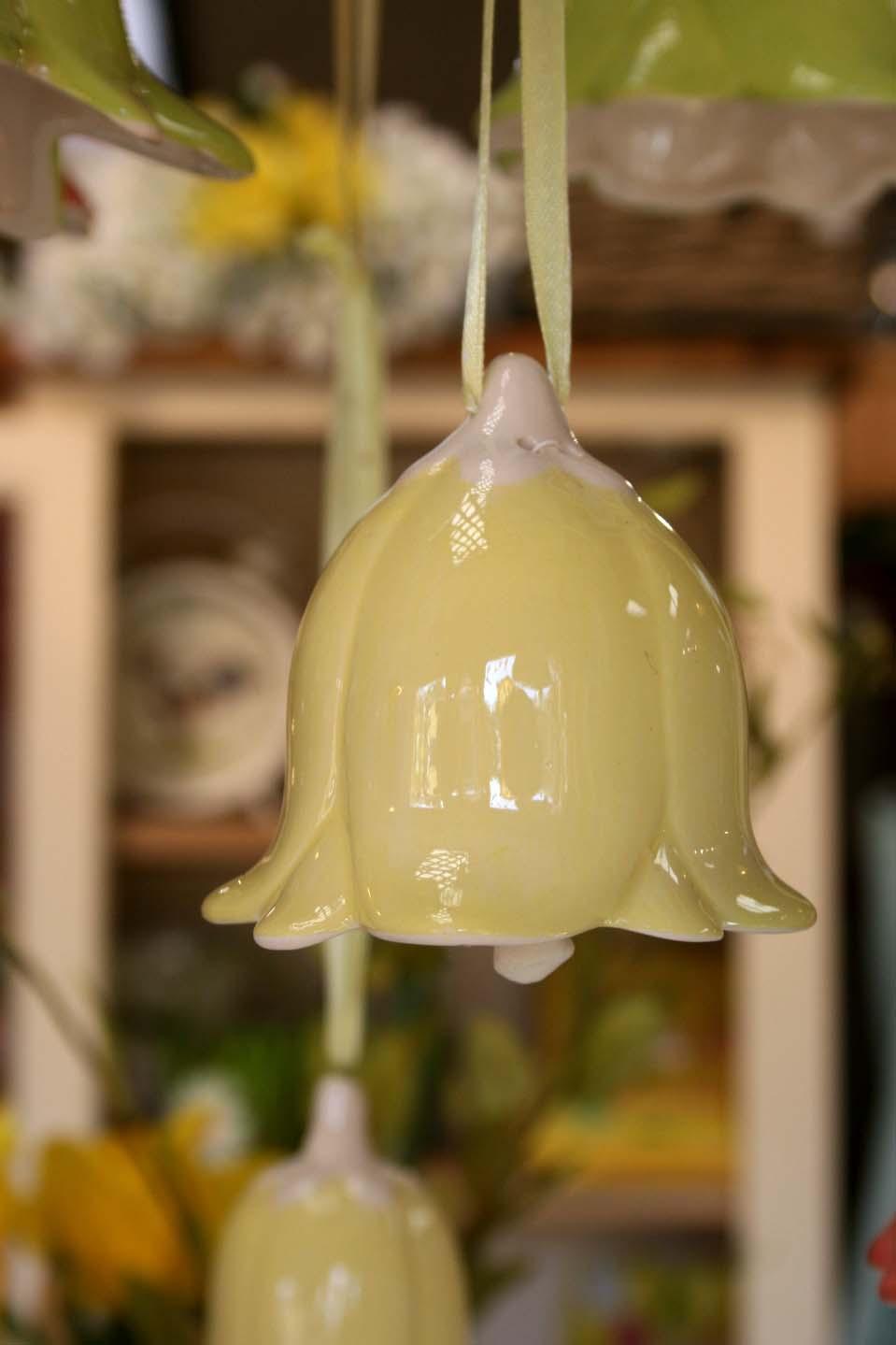 Ceramic Bell Decoration  € 13