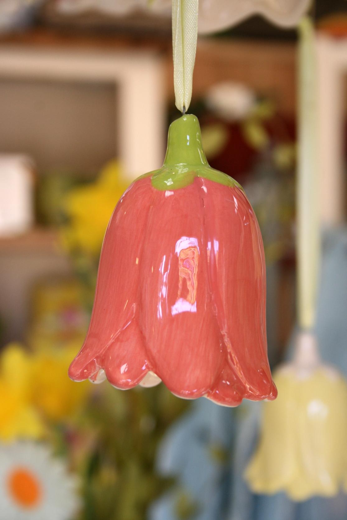 Ceramic Flower Decoration (Medium - Pink)  € 6.50