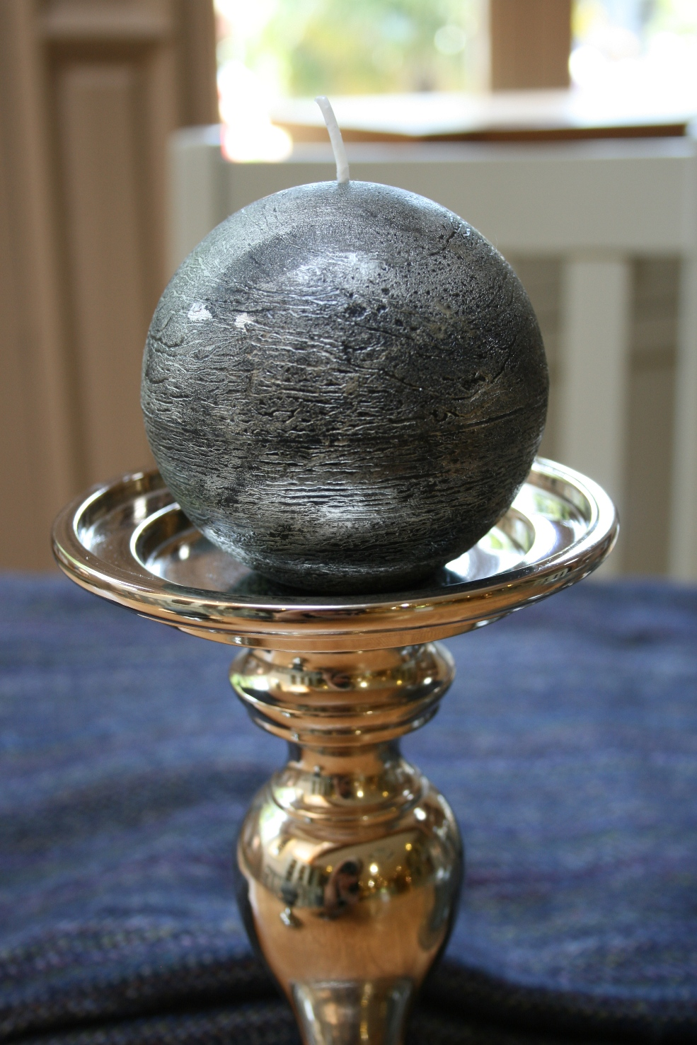 Tall Round Candle Holder  €32.00