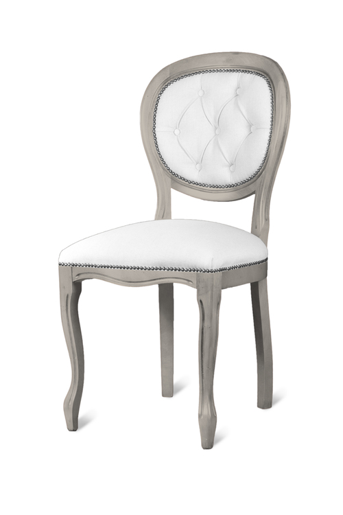 HERITAGE TRADITIONAL LINE UPHOLSTERED CHAIR  w 50 x d 50 h 99 cm  ( seat height 50 cm )  € 433( PRICE DROP NOW € 336 )  Product Code: TL-1218B  This piece may be orderedin any of the Heritage colours and finishes.