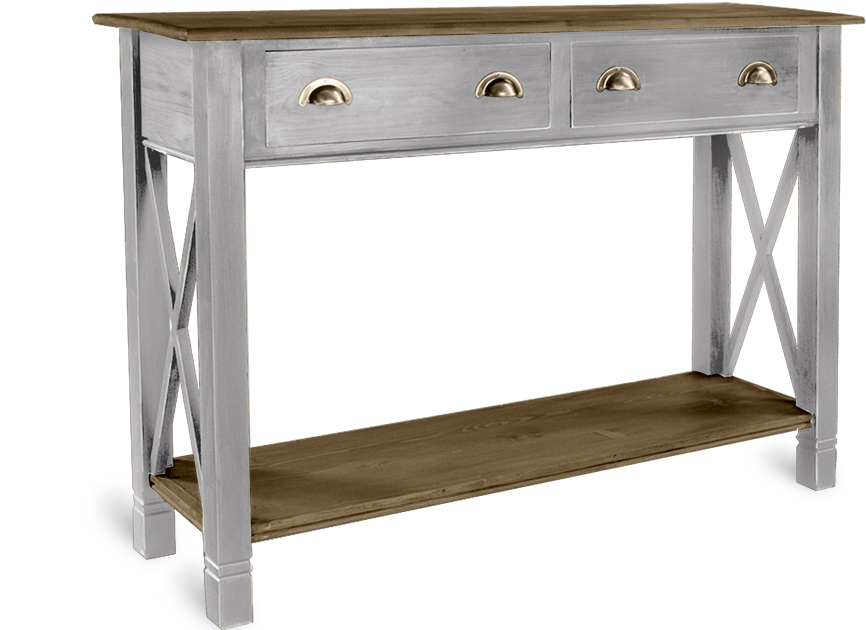 HERITAGE BASIC LINE 2 DRAWER SIDE TABLE  w 135 x d 40 x h 95 cm  € 503( PRICE DROP NOW € 426 )  Product Code: BL-3193  This piece may be orderedin any of the Heritage colours and finishes.