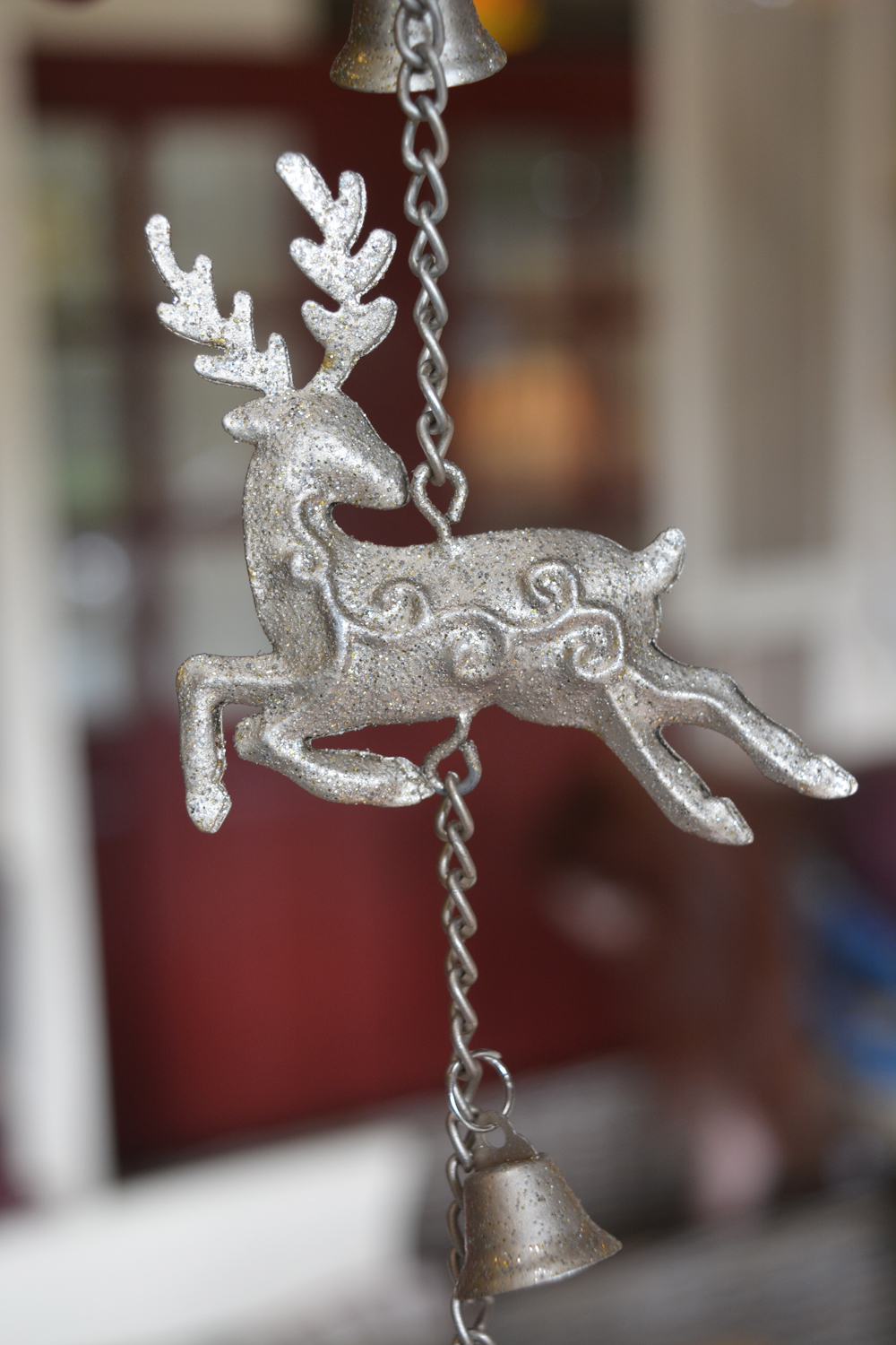 Reindeer and Snowflake Garland  €8.50