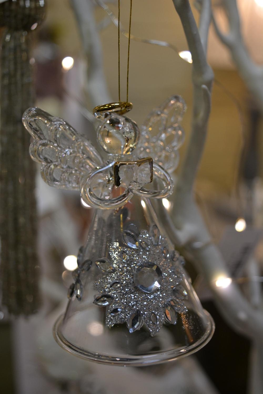Glass Angel with Diamonté  €4.40