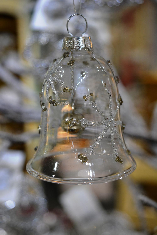 Glass Silver Belll  €3.50