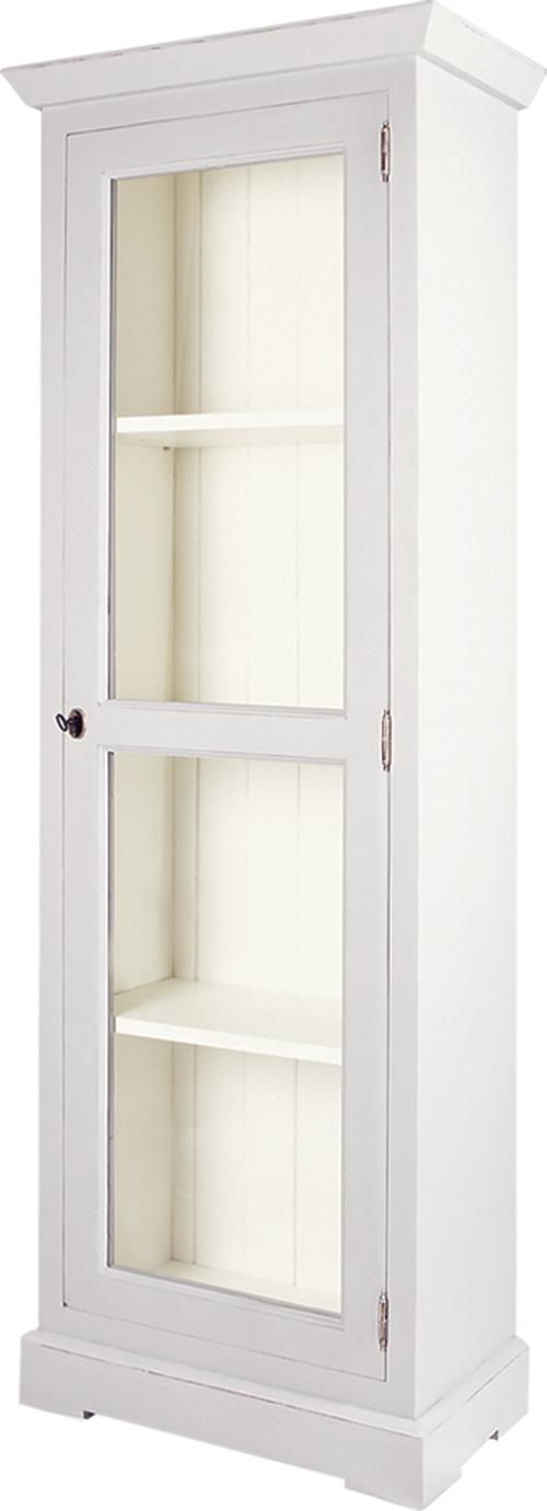 GLAZED NARROW BOOKCASE  w 63 x d 36 x h 180 cm  € 620( PRICE DROP NOW € 525 ) JANUARY SALE - NOW   €420   Product Code: BL-3163