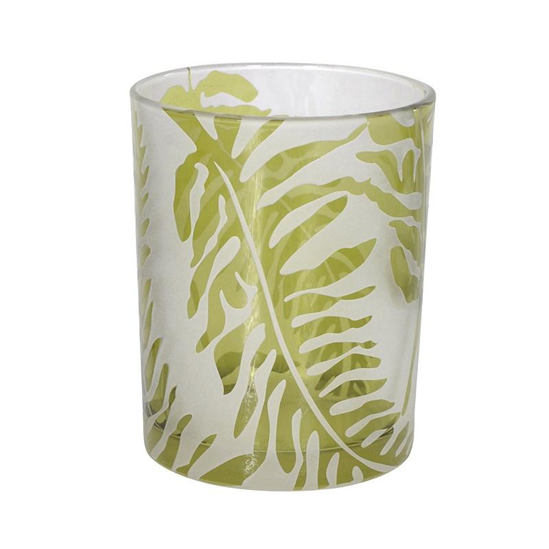 Green Leaf Tea Light Holder  €9.00  Product Code: CHA1-XLS-286