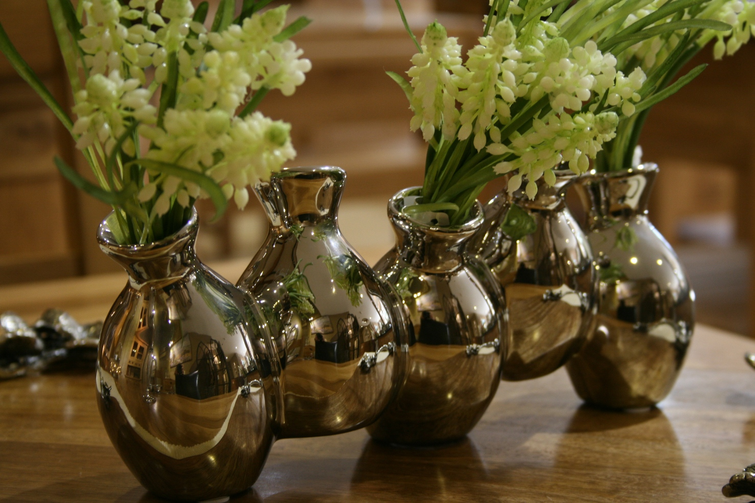 Set Of Five Vases ~ €17.00