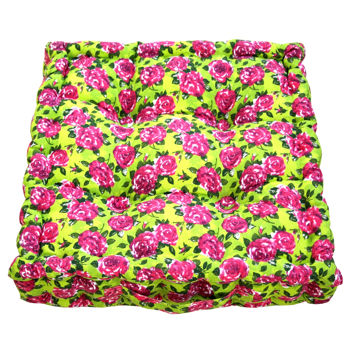 Rose & Lime Garden Cushion~ €43.00