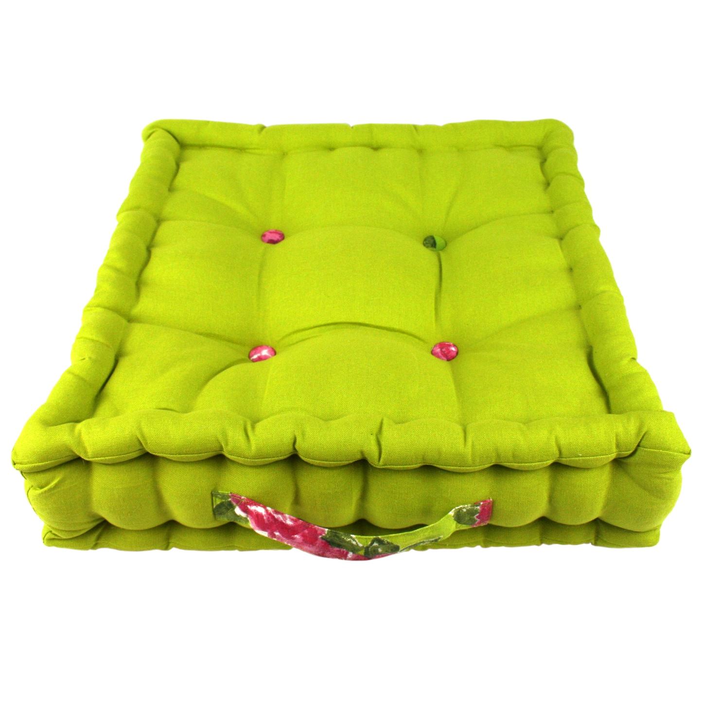 Lime Garden Cushion    ~ €37.00