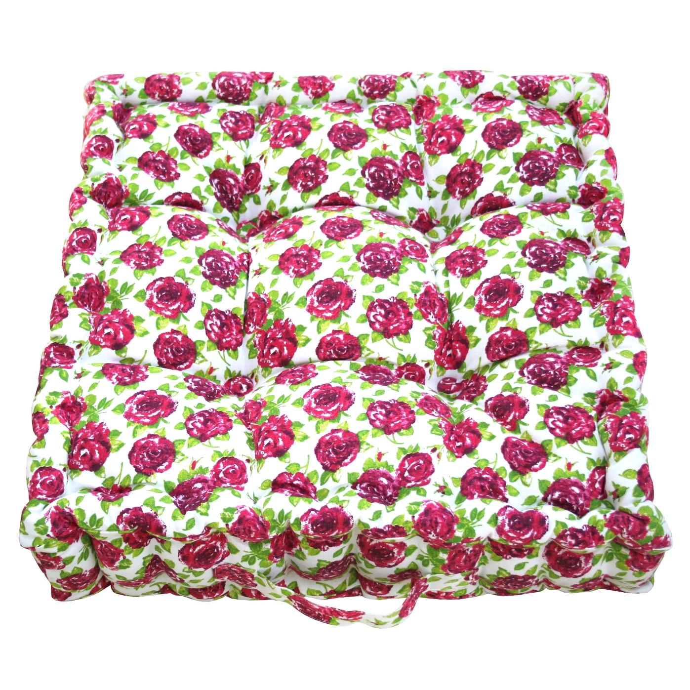 Pink Rose Garden Cushion    ~ €43.00