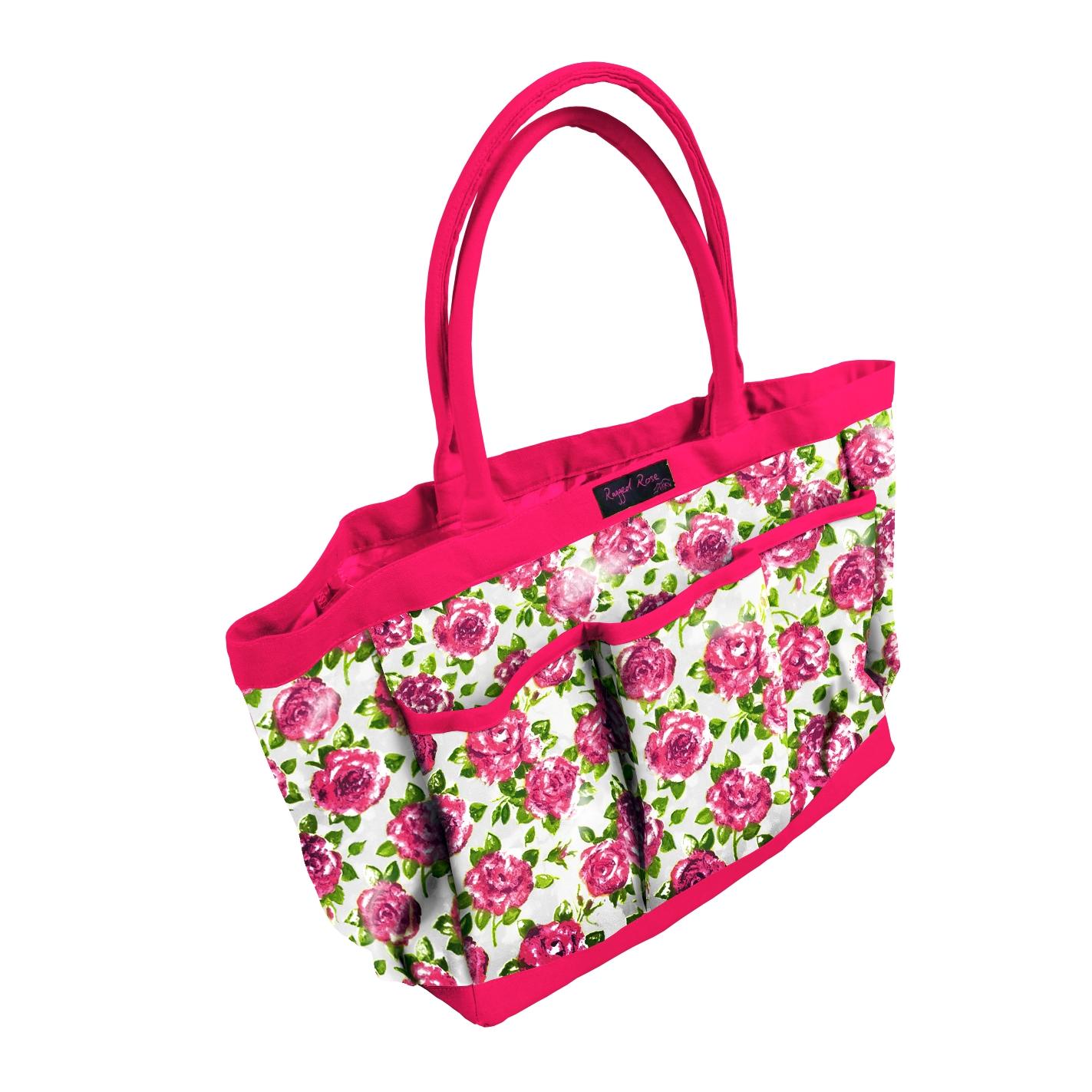 White & Rose Gardeners Bag    ~ €43.00
