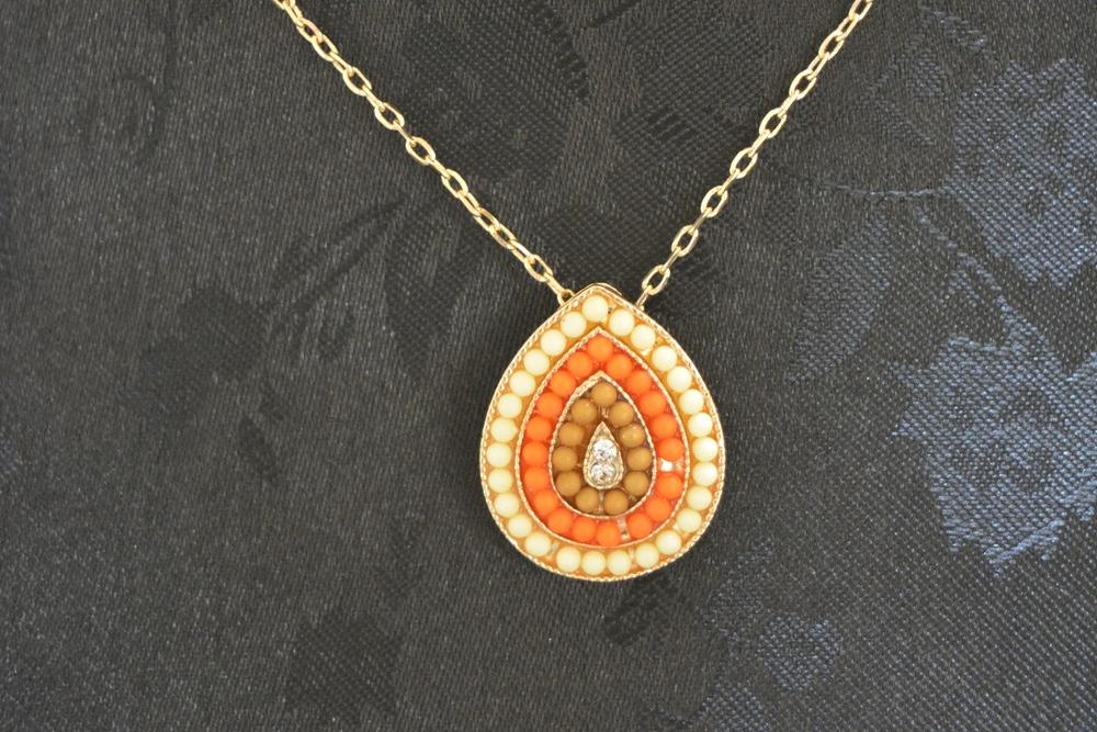 Sun Drop Pendant Necklace ~ €12.00