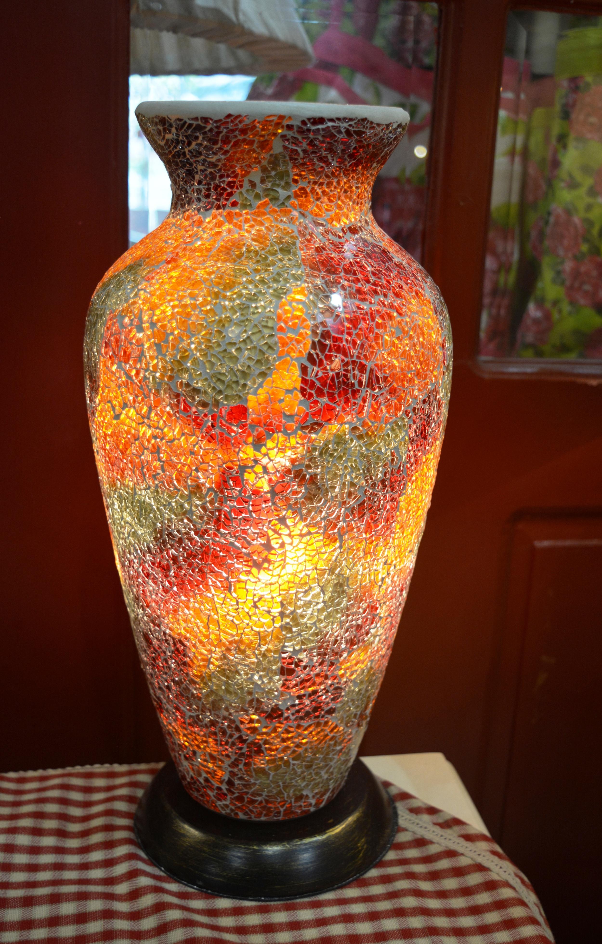 Mosaic Vase Shaped Lamp € 61
