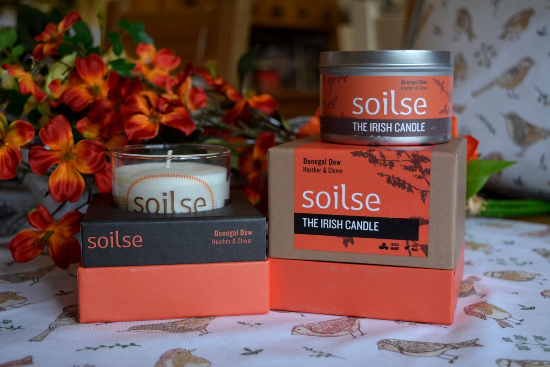 Soilse Candles Medium - €11.90, Large - €19.90