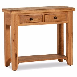 TWO DRAWER CONSOLE TABLE, CODE:OS046