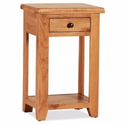 MINI CONSOLE TABLE ONE DRAWER, CODE:OS047