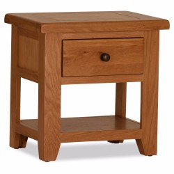 ONE DRAWER LAMP TABLE, CODE:OS049