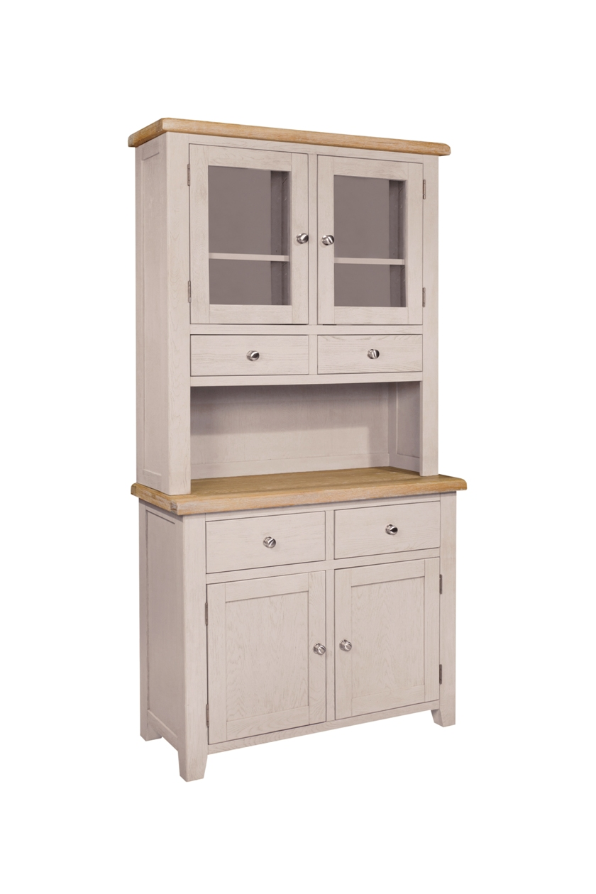 TWO DRAWER/TWO DOOR DRESSER RACK & SIDEBOARD, €1205,CODE: SAL030R/030B