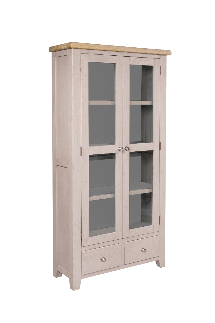 DOUBLE DISPLAY CABINET, €895, CODE:SAL028