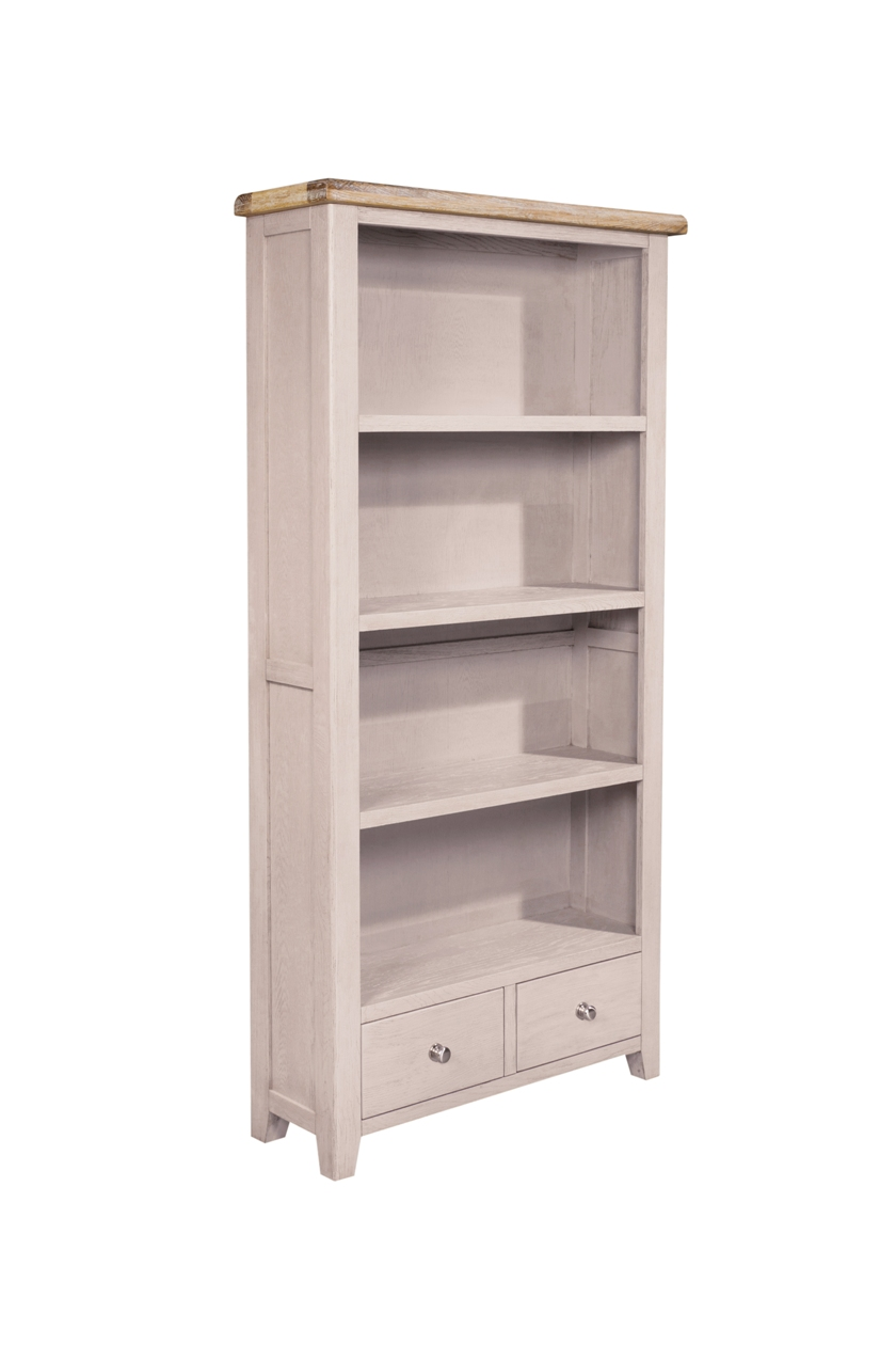 TALL BOOKCASE 2 DRAWER, €645, CODE:SAL029